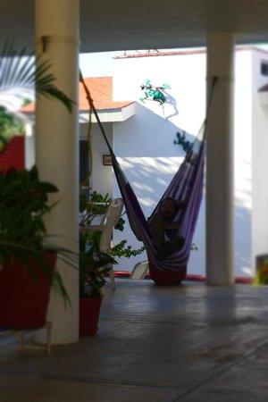 Casa Chacala: one of the comfy hammocks