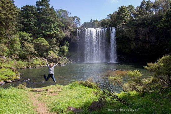 Rainbow Falls Walk: falls