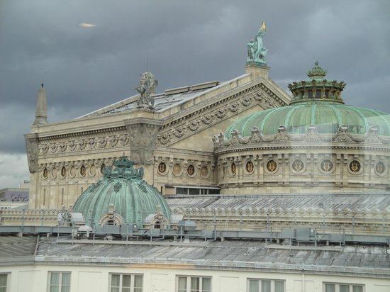 InterContinental Paris Le Grand : rooftop