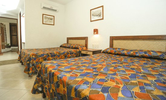 Hotel Suites Ixtapa Plaza: HABITACION ESTANDAR DOBLE