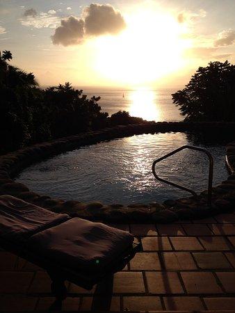 Stonefield Villa Resort: Stonefield Estate sunset