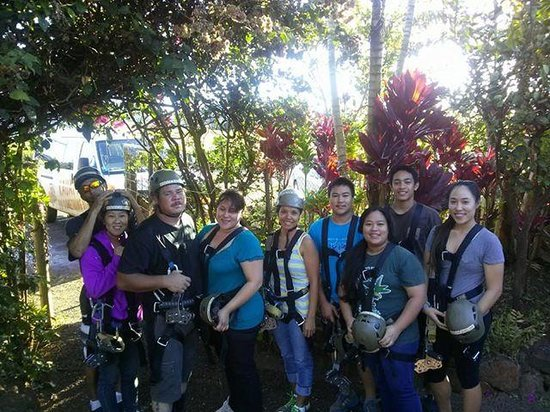 Koloa Zipline: heading out for our adventure-need to develope the rest of our pictures