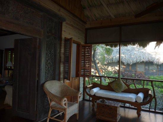 Turtle Inn : Enclosed Porch - Seaside Cottage