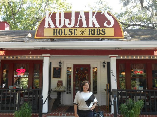 Kojak's House of Ribs: Foto del Restaurant!