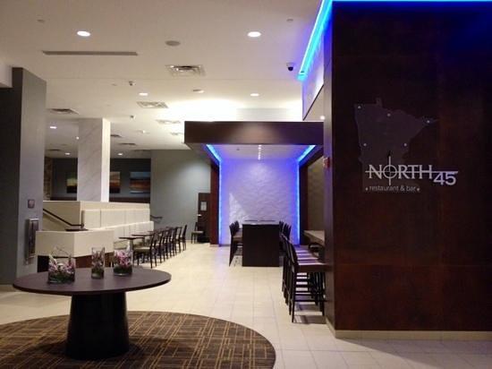 Millennium Minneapolis: North 45 inside Millennium Hotel