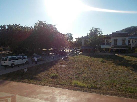 Hotel Huatulco Maxico: vista desde la terraza