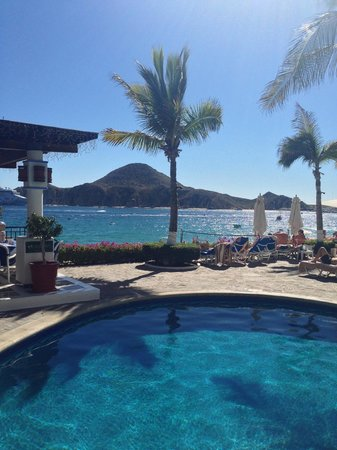 Pueblo Bonito Los Cabos: taken from the pool area