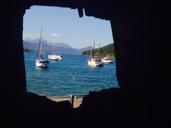 Edwin Fox Maritime Museum: Porthole perspective...