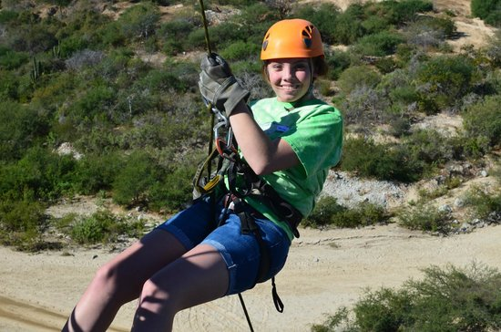 Canopy Costa Azul Eco-Adventure : repelling!