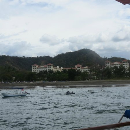 Hotel Riu Guanacaste: from catamaran