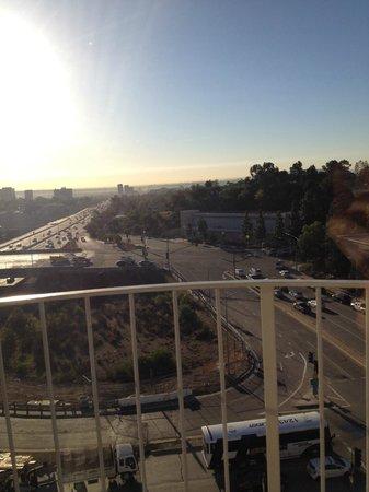Hotel Angeleno: Vista da varanda do quarto numero 1000.
