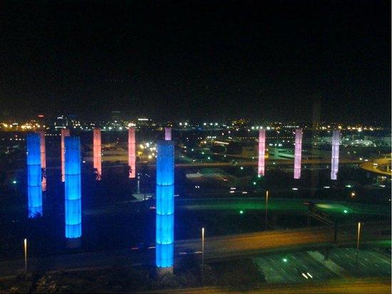 Hyatt Regency Los Angeles International Airport: View of LAX from My Room at the Radisson