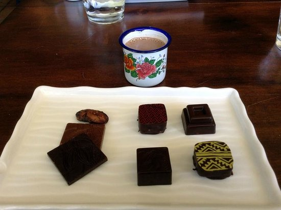 Sibu Chocolate: Hot Chocolate and Chocolate Tasting Samples
