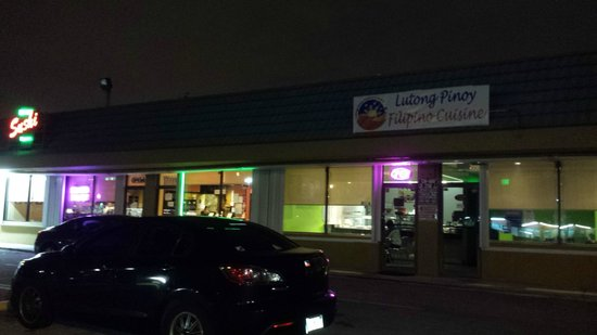 Lutong Pinoy Filipino Cuisine: Front Parking