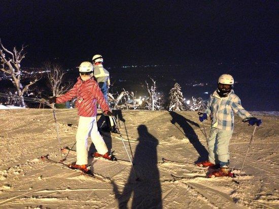 Furano Ski Place: Night skiing