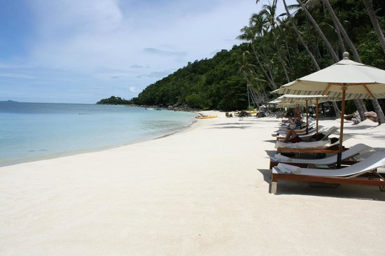 Four Seasons Resort Koh Samui Thailand : Beach