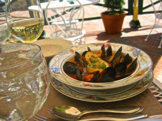 Violino Ristorante Italiano : Delicious Mussels