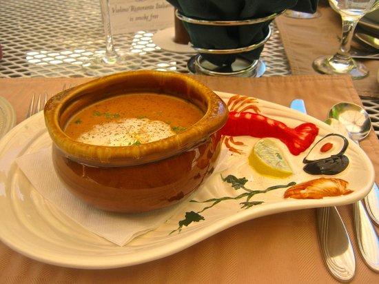 Violino Ristorante Italiano : Tasty soup