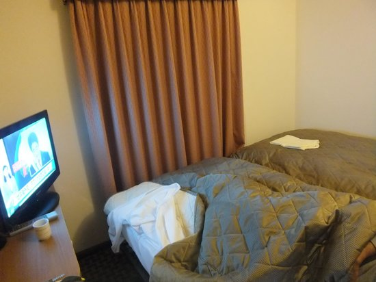 Hotel KeihanTemmabashi : ベッド