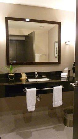 Wyndham Panama Albrook Mall: Good height countertops, quality granite