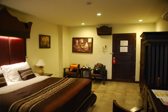 Raming Lodge Hotel & Spa: Our room