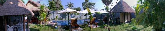 3 Monkeys Villa: whole view