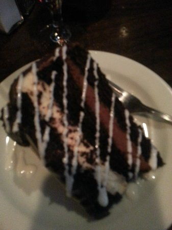 Rioz Brazilian Steakhouse: Chocolate Cake