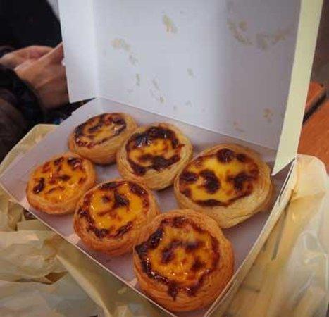 Margaret's Cafe e Nata: 料理