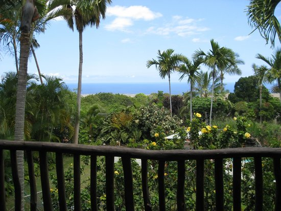 Hawaiian Oasis B&B : The amazing view from the Aloha Suite