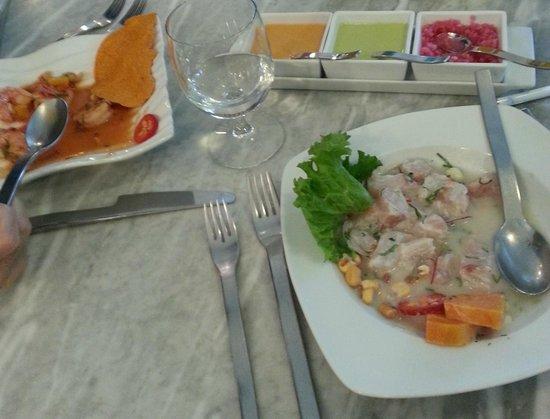 Agua y Sal Cebichería : Ceviches