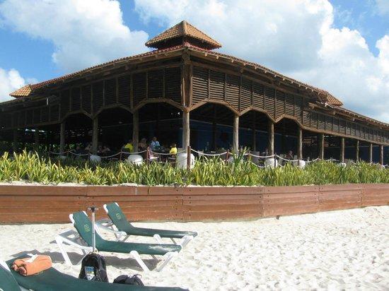 Occidental Cozumel: Beach Resturant