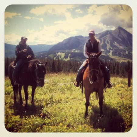 Fantasy Ranch Outfitters: My husband & me on our trip