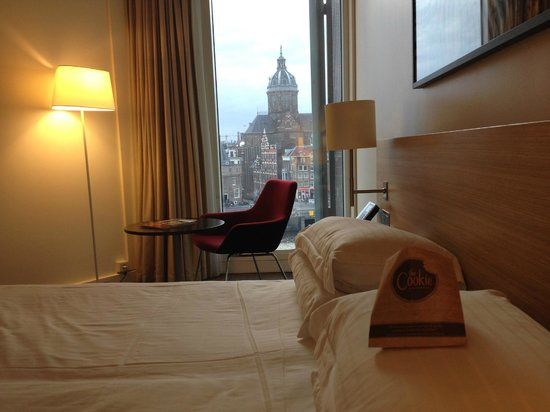 DoubleTree by Hilton Hotel Amsterdam Centraal Station : nice room