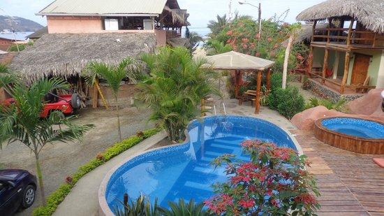 Hotel Hostería Nantu: vista desde las habitaciones