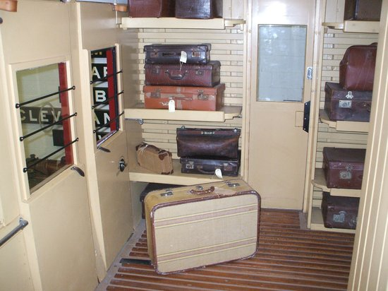 Redland Museum: The luggage area