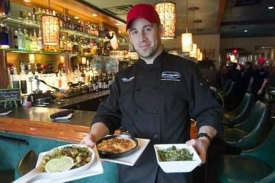 Diamonds Steak and Seafood: Chef Adam-Press & Argus Photo
