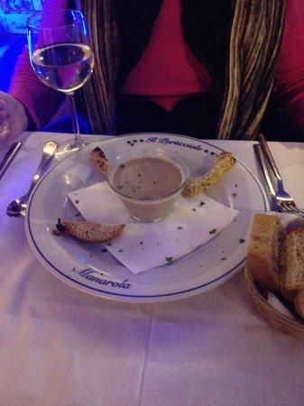 Il Porticciolo: mushroom soup