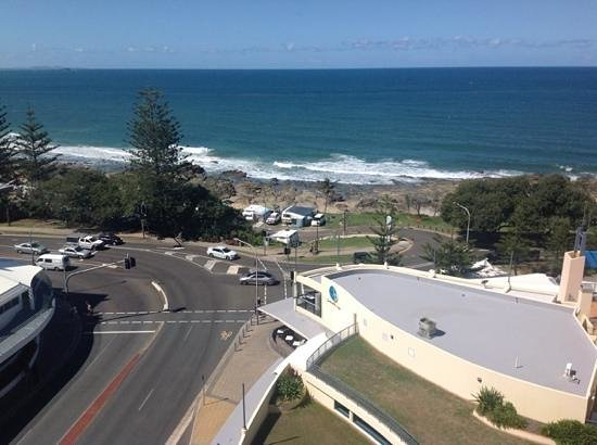 One Up Bar & Bistro: One Up - Bistro view to sea