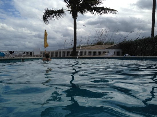 Southern Seas : View from inside the pool!