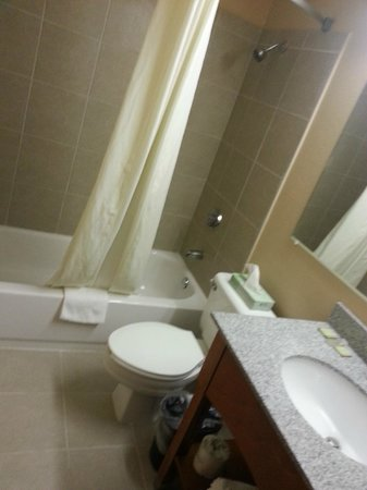 Super 8 Taylor/Detroit Area: Nice new bathroom