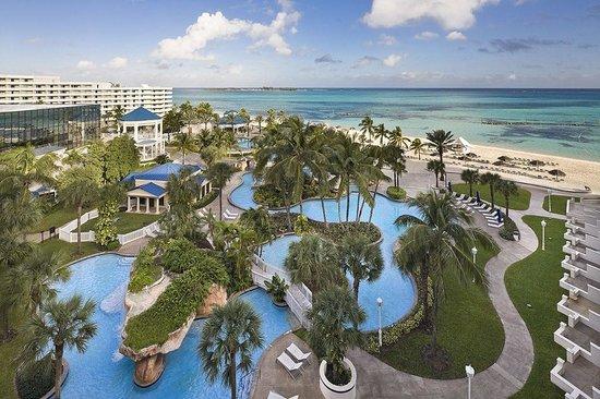 Melia Nau Beach All Inclusive Pool View