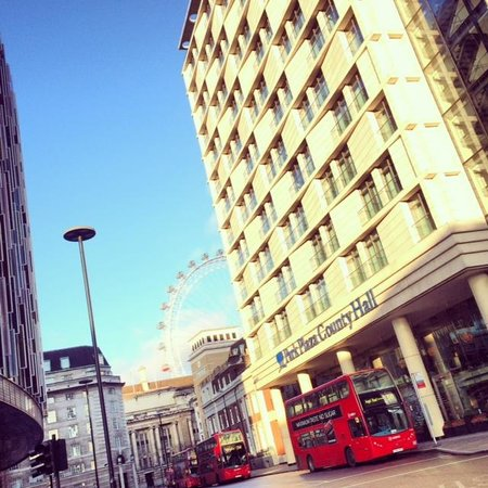 Park Plaza County Hall London: The location is brilliant, almost walking distance to everywhere including the tubes
