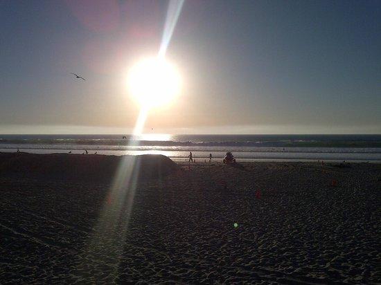 Ocean Park Inn: Sunset