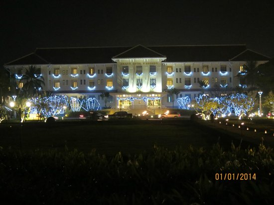 Raffles Grand Hotel d'Angkor: The front of the Hotel