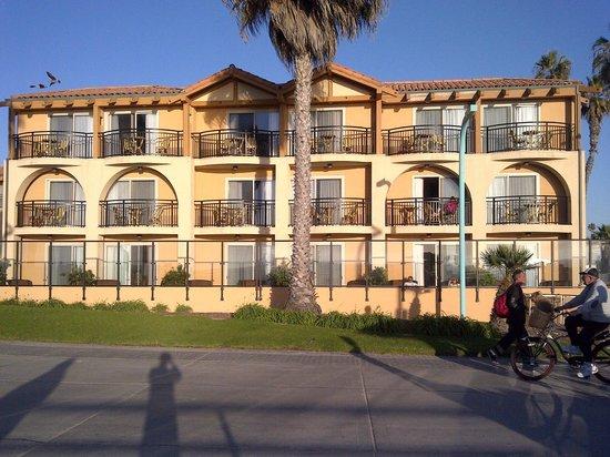 Ocean Park Inn: View from beach