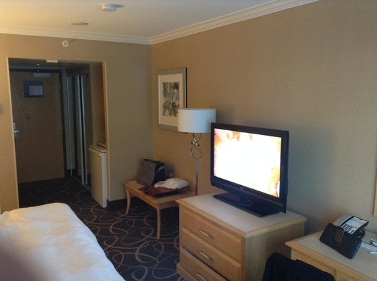 Hampton Inn & Suites Downtown Vancouver : Television