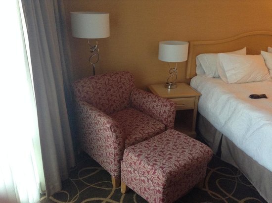 Hampton Inn & Suites Downtown Vancouver : Room seating