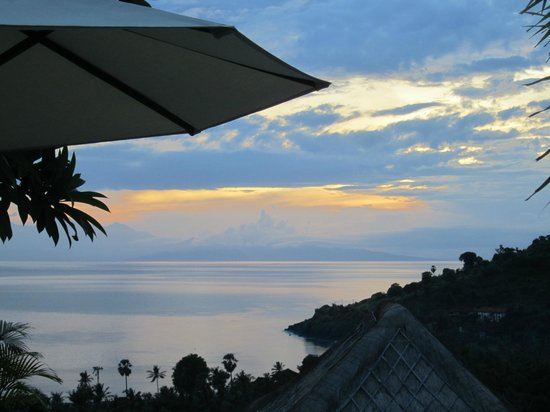 The Griya Villas and Spa: Sunrise