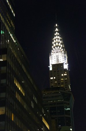 Chrysler Building at night - Picture of Chrysler Building ...