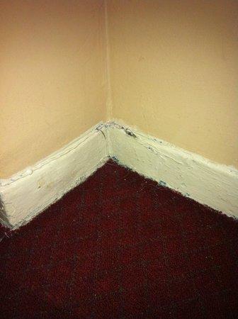 Hotel Carter : Carpet/wall